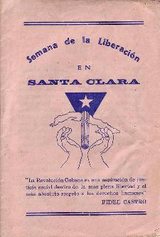 La «Semana de la Liberación» en Santa Clara