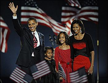Negros en la Casa Blanca.