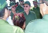 Recorre Raúl Castro zonas afectadas por «Paloma»