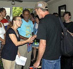En Santa Clara integrantes de la XXI Caravana de la Amistad Estados Unidos-Cuba: Pastores por la Paz
