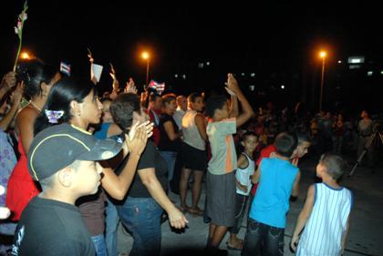 Festejaron los santaclareños el aniversario 50 de los CDR