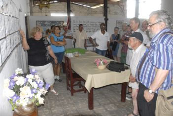 Agricultores franceses se interesan por alternativas agroalimentarias en Villa Clara