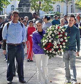 Homenaje a Martí inicia Jornada de la Prensa en Villa Clara